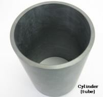 円筒加工例(ターゲット材)